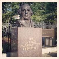 Photo taken at The George Washington University by Justin K. on 4/12/2012