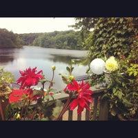 Photo taken at Bear pond by Katy C. on 8/11/2012