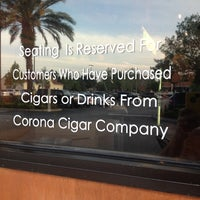 Photo taken at Corona Cigar Company & Drew Estate Lounge by Paul C. on 4/5/2012