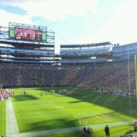 Photo taken at Lambeau Field by Edgars E. on 9/9/2012
