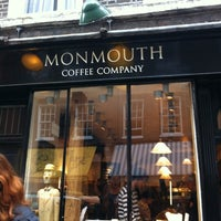Photo taken at Monmouth Coffee Company by Danielle C. on 5/12/2012