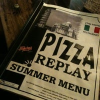 Photo taken at Pizza Replay by Klára V. on 8/2/2012