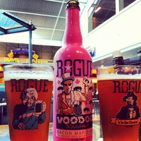 Photo taken at Rogue Ales Public House by Sam W. on 7/23/2012