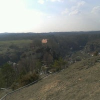 Photo taken at Burg Pottenstein by Nicolas E. on 4/3/2012