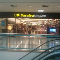 Photo taken at Saraiva MegaStore by Victor I. on 2/22/2012