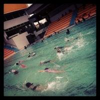 Photo taken at Sri KDU Swimming Pool by Jean G. on 9/10/2012