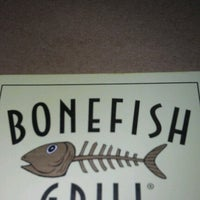 Photo taken at Bonefish Grill by Angela H. on 9/13/2012