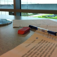 Photo taken at Cypress College Library by Yuri on 9/5/2012