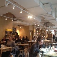 Photo taken at Le Pain Quotidien by Manuela A. on 2/12/2012