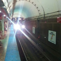 Photo taken at CTA - Chicago (Red) by Tom O. on 8/18/2012