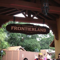 Photo taken at Frontierland by Ben K. on 8/19/2012