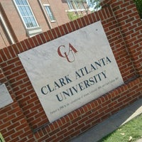 Photo taken at Clark Atlanta University by Terésa D. on 4/9/2012