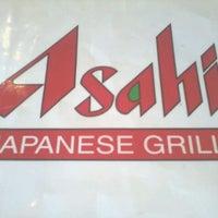 Photo taken at Asahi Japanese Grill by Sarah P. on 5/7/2012