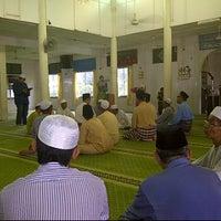 Photo taken at Masjid Ar-Rahman Padang Sera by Kim B. on 5/25/2012