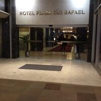 Photo taken at Plaza São Rafael Hotel by Alexandre E. on 5/22/2012