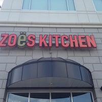 Photo taken at Zoës Kitchen by Khoa P. on 5/25/2012