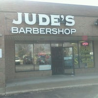 Photo taken at Jude's Barbershop by Mike H. on 3/14/2012