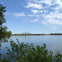 Photo taken at Lake Calhoun by Bill on 8/18/2012