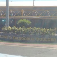 Photo taken at Kalgoorlie-Boulder Airport (KGI) by J-rod H. on 5/20/2012
