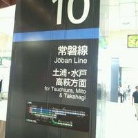 Photo taken at Platforms 9-10 by Naoki A. on 5/24/2012