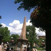 Photo taken at Santa Fe Plaza by Carie K. on 5/31/2012