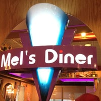 Photo taken at Mel's Diner by Jeanie T. on 7/8/2012