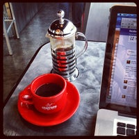 Photo taken at Chazzano Coffee Roasters by Jeff P. on 8/16/2012
