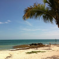 Photo taken at Fort Zachary Taylor State Park Beach by Salomon on 6/9/2012