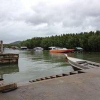 Photo taken at Bang Rong Pier by Kaptan J. on 5/28/2012