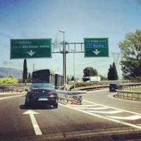 Photo taken at A11 - Prato Est by Visit Prato on 7/20/2012