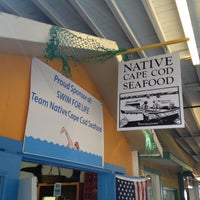 Photo taken at Native Cape Cod Seafood by Timur Z. on 8/25/2012