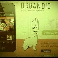 Photo taken at urbandig by Ian W. on 2/7/2012