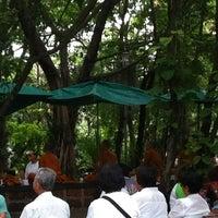 Photo taken at ลานใส่บาตร by misa m. on 8/2/2012