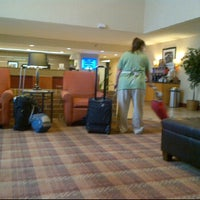 Photo taken at Hampton Inn Oklahoma City-Airport by MSK ♡. on 6/10/2012