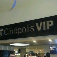 Photo taken at Cinépolis VIP by Israel R. on 7/8/2012