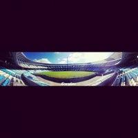 Photo taken at Estadio Juan Domingo Perón (Racing Club) by El gran Ciro on 6/6/2012