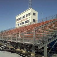 Photo taken at Cavalier Stadium by Christella C. on 2/11/2012