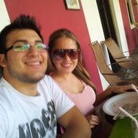 Photo taken at Tacuru Restaurante Rural by Elias R. on 8/18/2012