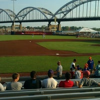 Photo taken at Modern Woodmen Park by Will L. on 7/23/2012