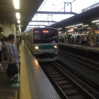 Photo taken at Akabane Station by Eiichiro N. on 7/7/2012