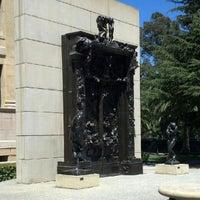 Photo taken at Rodin Sculpture Garden by Brian M. on 7/19/2012