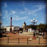 Снимок сделан в Площадь Победы пользователем Svetlana K. 9/10/2012