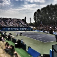 Photo taken at Optima Open by Lode M. on 8/19/2012