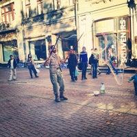Photo taken at Район «Арбат» by Alinniks on 5/10/2012