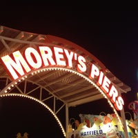 Photo taken at Morey's Piers and Beachfront Waterparks by Brandon C. on 8/30/2012