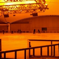 Photo taken at Crown Center Ice Terrace by Heidi on 2/13/2012