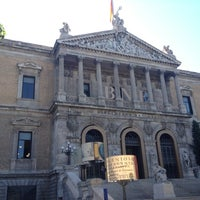 Photo taken at Biblioteca Nacional de España by Yury on 7/9/2012