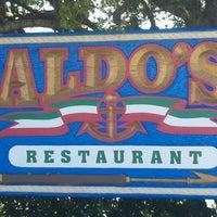 Photo taken at Aldo's Harbor Restaurant by Morgan C. on 3/21/2012