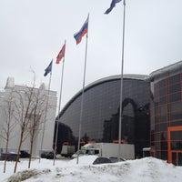 Снимок сделан в Павильон № 75 «МосЭкспо» пользователем Aleksandr G. 2/24/2012