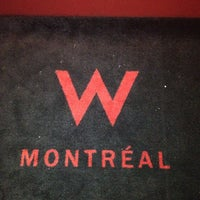 Photo taken at W Montréal by M D. on 5/22/2012